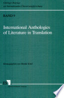 International Anthologies of Literature in Translation