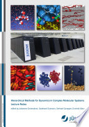 Hierarchical Methods for Dynamics in Complex Molecular Systems