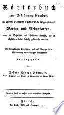 Wörterbuch zur Erklärung fremder