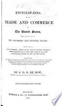 Encyclop  dia of the Trade and Commerce of the United States     First supplementary volume