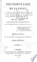 Dictionnaire de la fable
