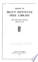 Report of the Free Library