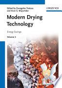 Modern Drying Technology  Energy Savings
