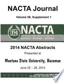 NACTA Journal Volume 58  Sup  1 : ...