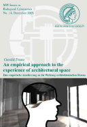 An Empirical Approach to the Experience of Architectural Space