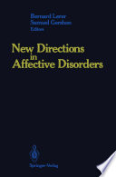 New Directions In Affective Disorders : task set by robert burton in...