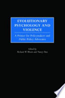 Evolutionary Psychology and Violence