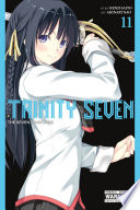 Trinity Seven : lilith and mira vs. fighting powerhouses akio and...