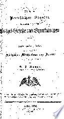 Die in den preussischen staaten bestehenden allgemeinen polizei-gesetze und verordnungen ...