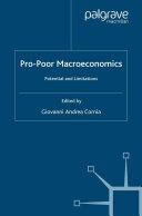 download ebook pro-poor macroeconomics pdf epub