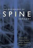 The Psychology of Spine Surgery