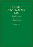 Business Organizations Law