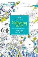 Posh Panorama Adult Coloring Book  Oceans Unfurled