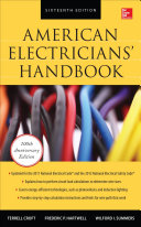 American Electricians  Handbook  Sixteenth Edition