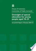 Oversight of special education for young people aged 16 25