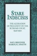 Stare Indecisis