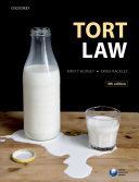 Tort Law Textbook From Leading Academics Kirsty Horsey Erika