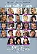 Journalistinnen in Österreich