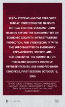 SCADA Systems and the Terrorist Threat