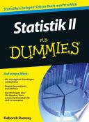 Statistik II f  r Dummies