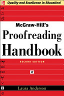 Mcgraw Hill S Proofreading Handbook