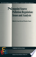 Nonpoint Source Pollution Regulation Issues And Analysis