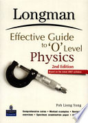 Longman Effective Guide To O Level Physics