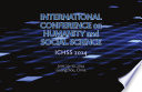 International Conference on Humanity and Social Science   ICHSS2014