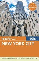 Fodor s New York City 2016