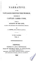 illustration A Narrative of the Voyages Round the World, Performed by Captain James Cook. With an Account of His Life, During the Previous and Intervening Periods