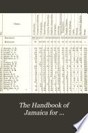 The Handbook of Jamaica for     Book PDF