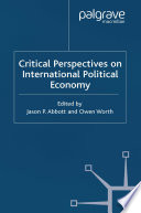Critical Perspectives on International Political Economy