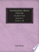 Cambodian Basic Course