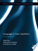 Language in Late Capitalism