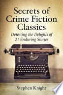 Secrets Of Crime Fiction Classics