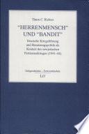 """""""Herrenmensch"""" und """"Bandit"""""""