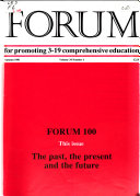Forum for Promoting 3 19 Comprehensive Education