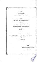 Helvetien in seinen wesentlichsten oekonomischen, politischen, kirchlichen Beziehungen, und Hauptrevolutionen, tabellarisch dargestellt