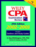 Wiley CPA Examination Review  Outlines and Study Guidelines