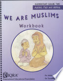 We Are Muslims  Elementary Grade 2  WB