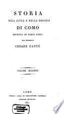 Storia della Citt   e della Diocesi di Como
