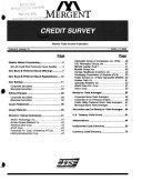 Credit Survey