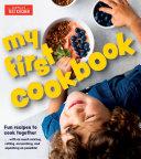 My First Cookbook Book