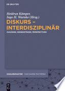 Diskurs Interdisziplin R