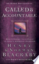 Called   Accountable 52 week Devotional