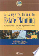 A Lawyer s Guide to Estate Planning