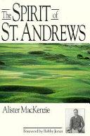 The Spirit of St  Andrews