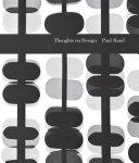 download ebook thoughts on design pdf epub