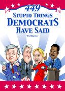 download ebook 449 stupid things democrats have said pdf epub