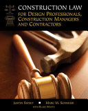 Legal Update For Construction Law For Design Professionals Construction Managers And Contractors Loose Leaf Version
